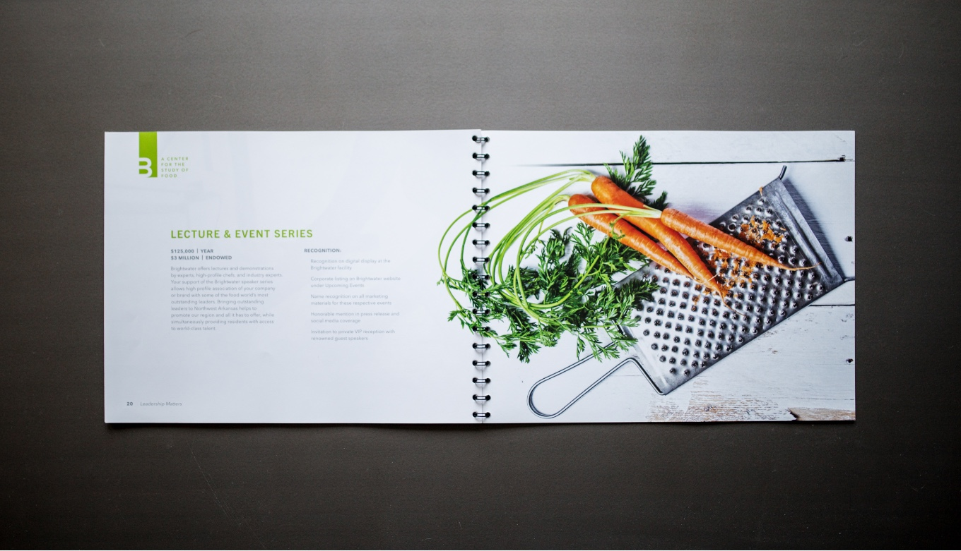 Creative Direction, Art Direction, and Graphic Design of Partnership Book Presentation
