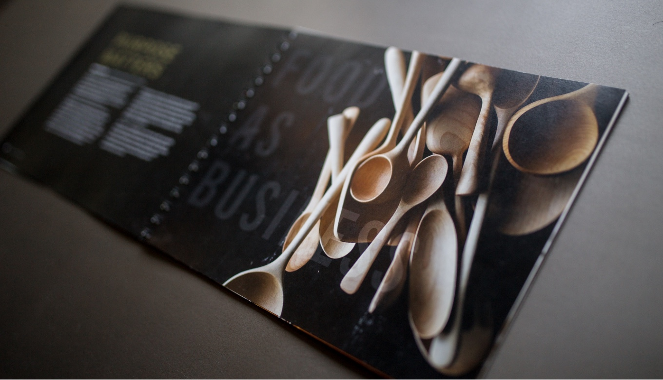 Culinary School Presentation Book Design, Copywriting, and Art Direction