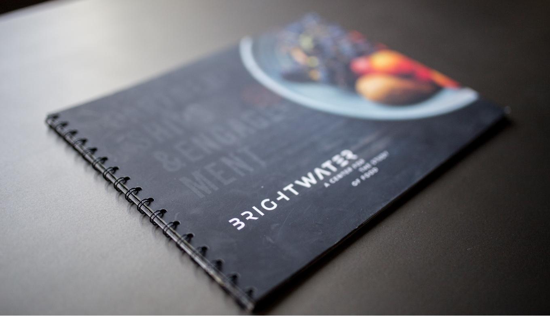 Partnership Book Presentation Cover Design and Branding