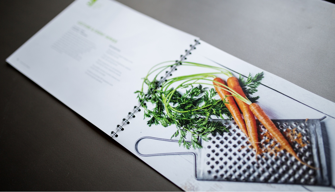 Creative Book Layout, Design, and Art Direction For Culinary School Partnership Proposal