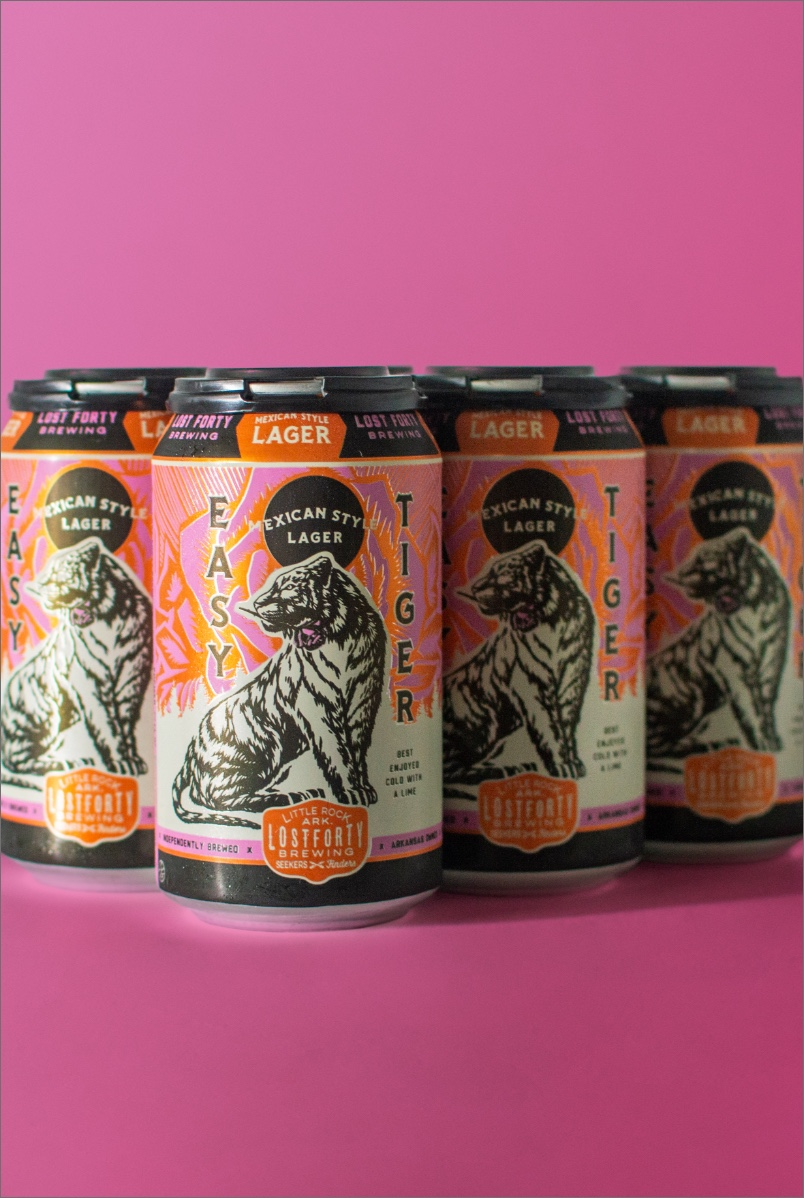 Lager Beer Can Tiger Design Beverage Packaging By BLKBOX