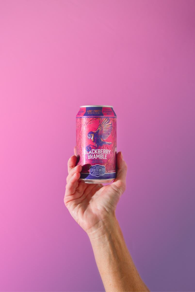 New Can Design For Blackberry Bramble Arkansas Brewery By Creative Marketing Agency BLKBOX