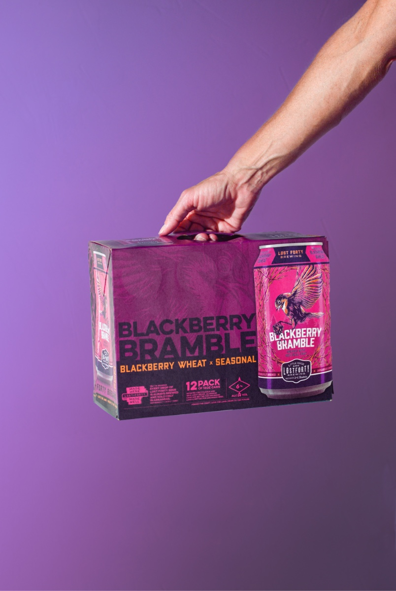Lost Forty Brewery Six Pack Beer Packaging Design And Graphic Design By Creative Agency BLKBOX
