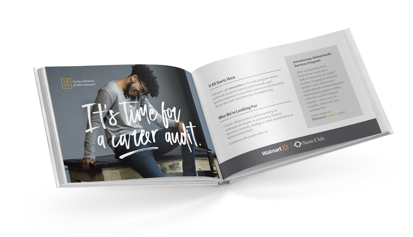 Walmart Recruitment Presentation Design, Art Direction, Photography, And Creative Direction