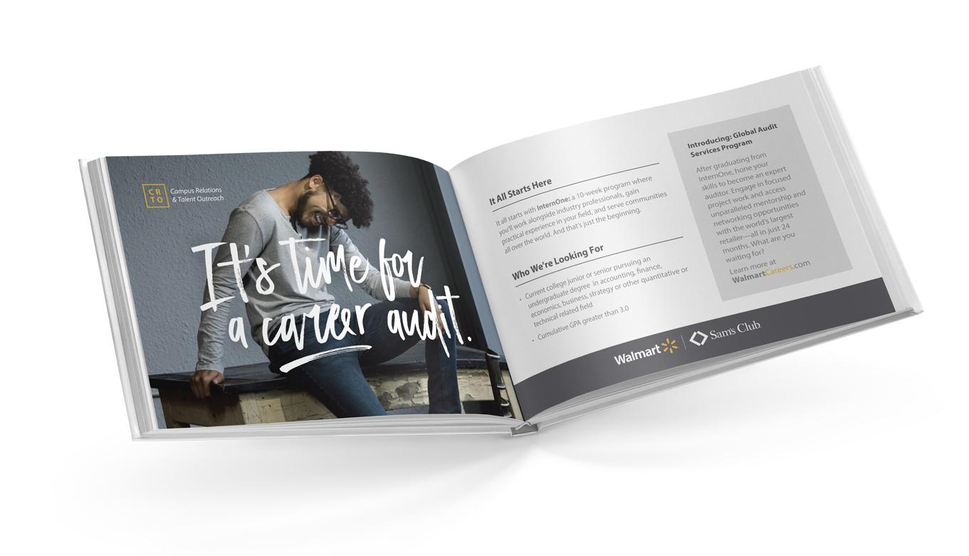 Walmart Recruitment Presentation Design, Art Direction, Photography, And Creative Direction