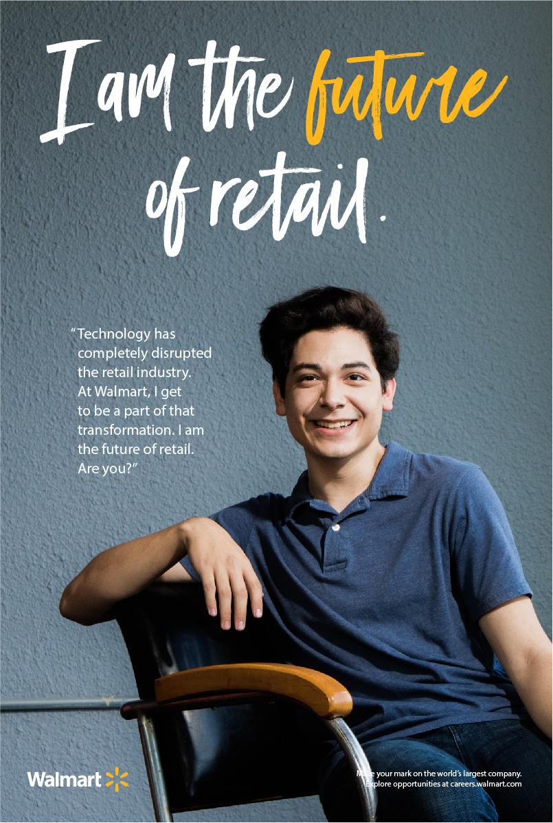 Walmart Recruitment And Employment Marketing Retail Technology Banner