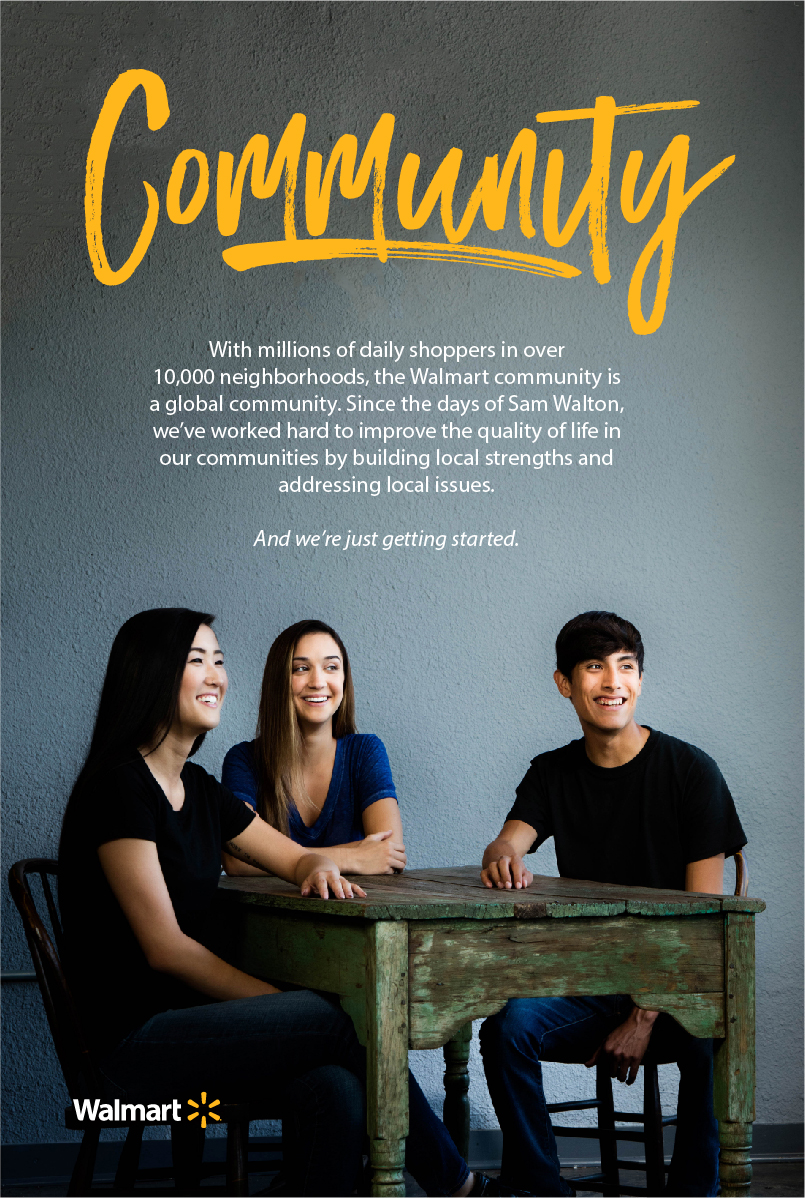 Walmart Recruitment And Employment Marketing Community Banner